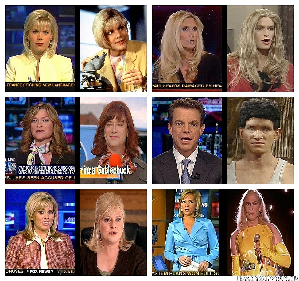 FOX News Figures Strangely Resemble Kids In The Hall Characters
