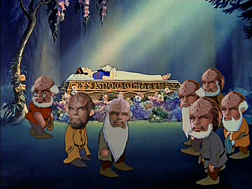 Snow White And The Seven Worfs