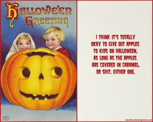 Halloween Apples _ Funny Halloween Card