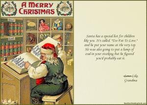 Santa's Fat List